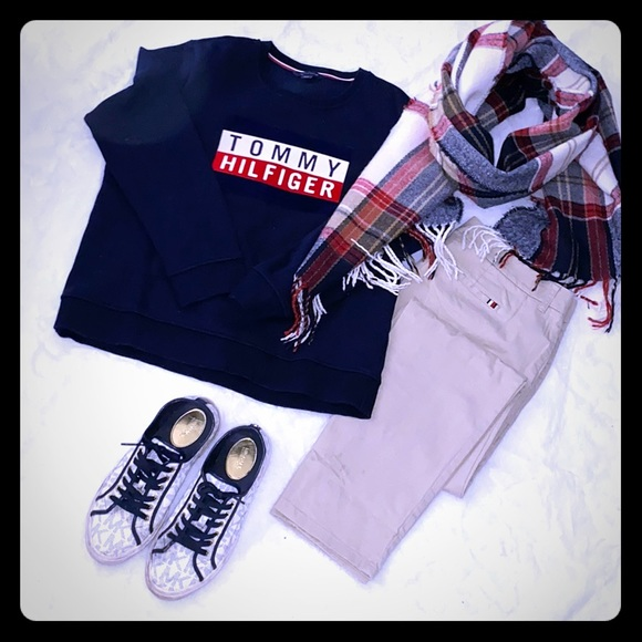 🔵🔴⚪️Tommy Hilfiger Sweater ⚪️🔴🔵